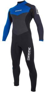 2019 Mystic Drip 5/4mm Back Zip Wetsuit Blue 190009