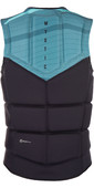 2020 Mystic Marshall Front Zip Wake Impact Vest Mint 1900126