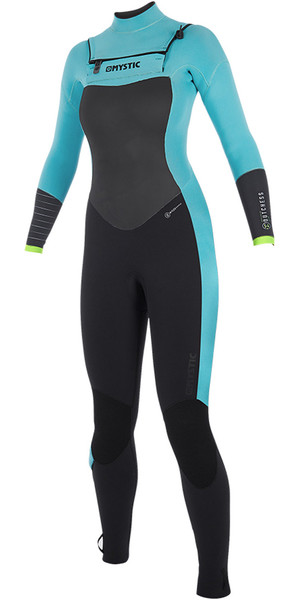 2019 Mystic Dutchess Womens 5/4mm Double Front Zip Wetsuit Mint 190017