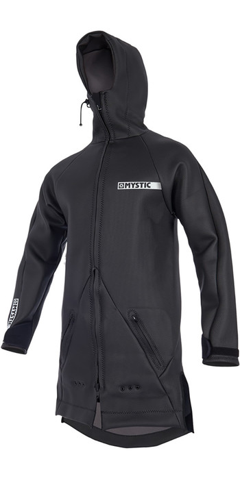 2019 Mystic Mens Battle Jacket Black 190021