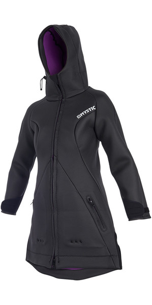 2019 Mystic Womens Battle Jacket Black 190022