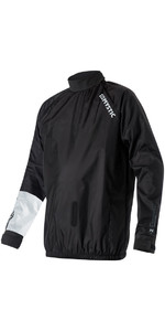 2021 Mystic Mens Kite Wind Barrier Jacket Black 190023