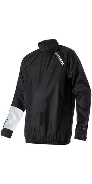 2019 Mystic Mens Kite Wind Barrier Jacket Black 190023