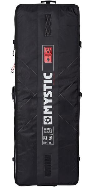 2018 Mystic Matrix Square Board Bag 1.45M Black 190059