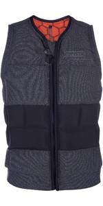 2020 Mystic Legend Front Zip Impact Wake Vest Black 190122