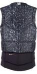 2019 Mystic Magician Front Zip Wake Impact Vest Black 190127