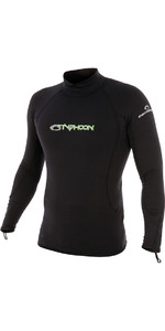 2020 Typhoon ThermaFleece Long Sleeve in Black 200300