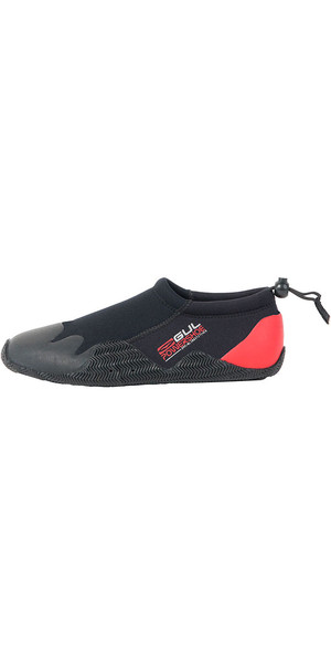 Gul kids, child, Junior Power Slipper Black / Red BO1267