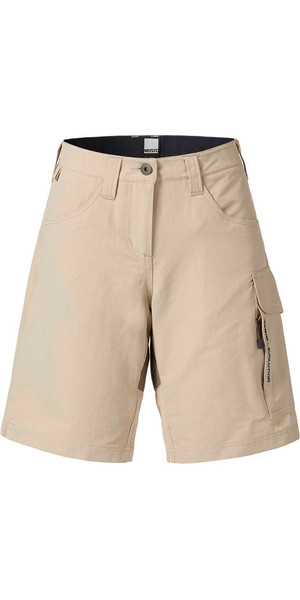 Musto Evolution Womens Performance UV Shorts Light Stone SE0930