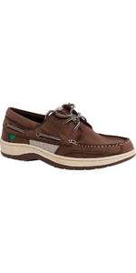 2020 Gul Falmouth Leather Deck Shoe TAN DS1002