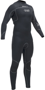 Gul Flexor III 3/2mm GBS Back Zip Wetsuit BLACK FX1208-A9
