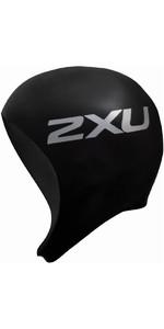 2XU Neoprene Swim Cap Black UW1481F
