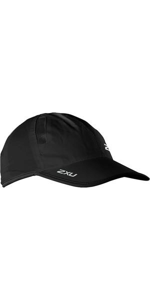 2018 2XU Run Cap Black UR1188F