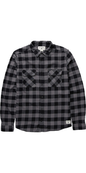 Billabong All Day Flannel Shirt BLACK Z1SH04