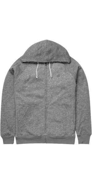 Billabong Balance Sherpa Zip Hoody DARK GREY HEATHER Z1FL15