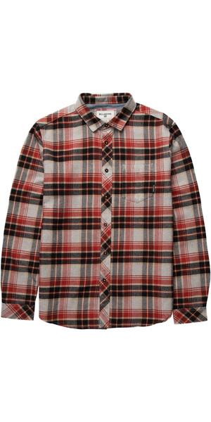 Billabong Henderson Long Sleeve Shirt LIGHT GREY HEATHER Z1SH07