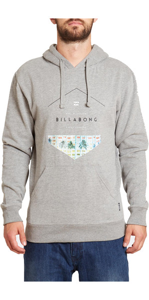 Billabong Split Hex Hoody GREY HEATHER Z1HO03