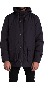 Billabong Stafford Parka Jacket BLACK Z1JK18