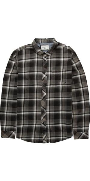 Billabong Vantage Long Sleeve Flannel Shirt ASPHALT Z1SH09