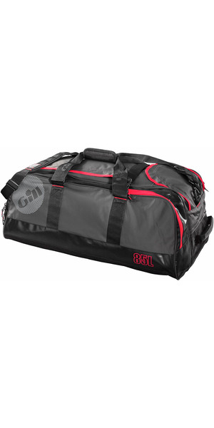 2018 Gill 85L Cargo Bag Dark Grey / Red Detail L059
