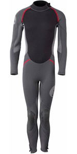 2019 Gill Junior 3/2mm Back Zip Wetsuit Graphite / Ash 4605J