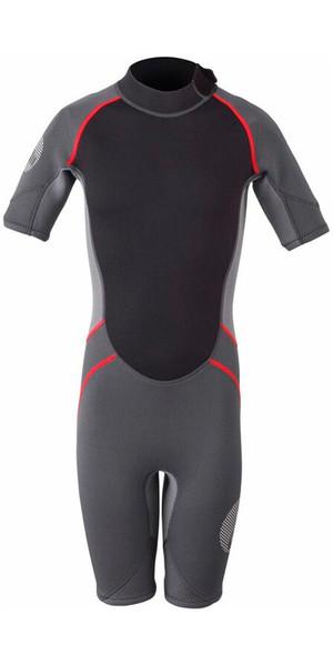 2019 Gill Junior 3/2mm Shorty Wetsuit Graphite / Ash 4603J