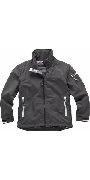 2018 Gill Junior Crew Jacket in Graphite 1041J