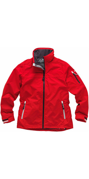 2018 Gill Ladies Crew Jacket in Red 1041W