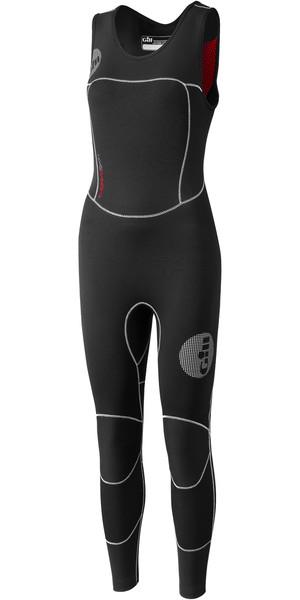 2018 Gill Ladies Thermoskin 4/3mm GBS Skiff Suit Black 4614W