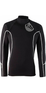 2019 Gill Mens 2.5mm THERMOSKIN Long Sleeve Neoprene TOP Black 4616