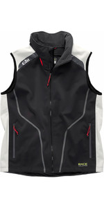 Gill Race Collection Softshell Gilet Graphite / Silver RC018