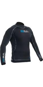 2019 Gul Hydroshield Pro Waterproof Thermal Long Sleeve Top BLACK / BLACK AC0089-A9