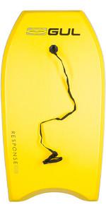 2019 Gul Response Junior 36 Bodyboard - Yellow / Grey Rail GB0022-A9