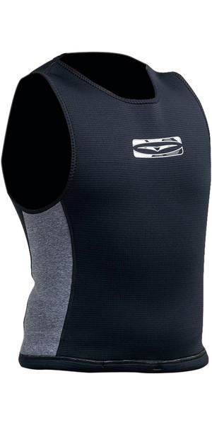 2018 Gul Reversible 1.5mm Flatlock Neoprene Wetsuit Vest Black / Grey RE7302-B3