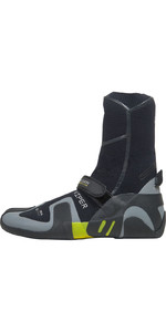 2019 Gul Viper 5mm Split Toe Wetsuit Boot Black / YELLOW BO1259-A9