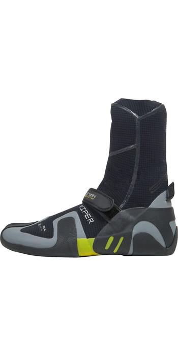 2019 Gul Viper 5mm Split Toe Wetsuit Boot Black / YELLOW BO1259-A9