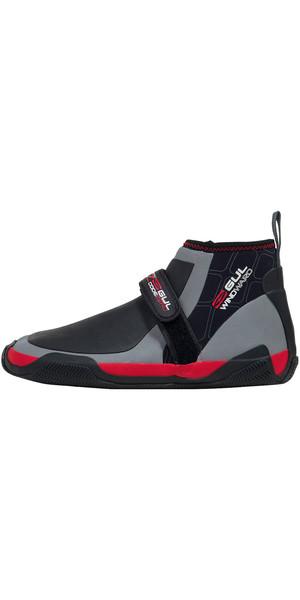 2018 Gul Windward CZ 5mm Master Hike Wetsuit Shoe Black / Grey BO1298