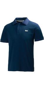 2019 Helly Hansen Driftline Polo Shirt Navy 50584