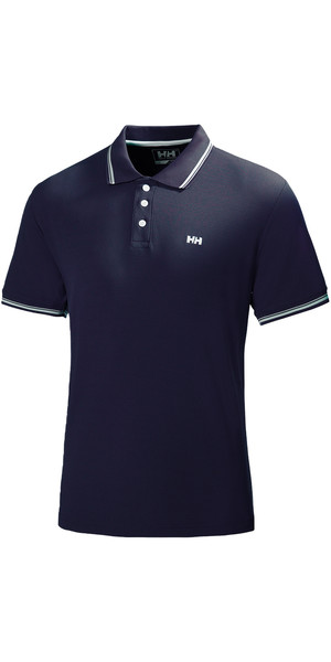 2019 Helly Hansen Kos Short Sleeve Polo in NAVY 50565