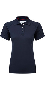 Henri Lloyd Womens Fast Dry Polo T-Shirt in MARINE Y30279