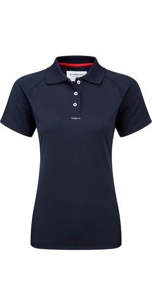 2018 Henri Lloyd Womens Fast Dry Polo T-Shirt in MARINE Y30279