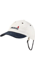 2021 Musto Evo Original Crew Cap Antique Sail White AE0191