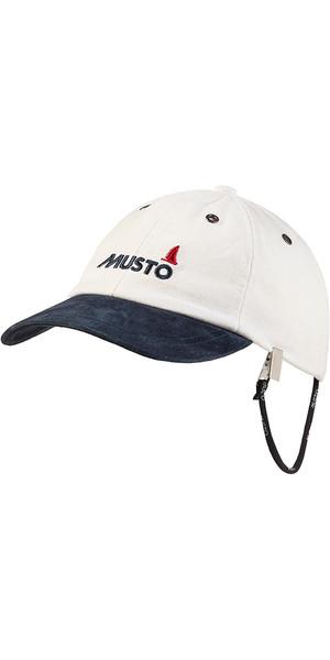 2018 Musto Evo Original Crew Cap Antique Sail White AE0191