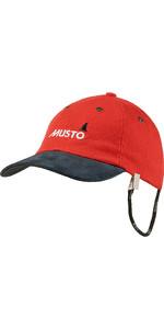 2018 Musto Evo Original Crew Cap Fire Orange AE0191