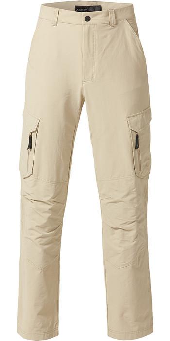 Musto Essential UV Fast Dry Sailing Trousers Light Stone Long LEG (86cm) SE0781