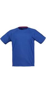 Musto Evolution Logo Short Sleeve Tee in SURF BLUE SE1361