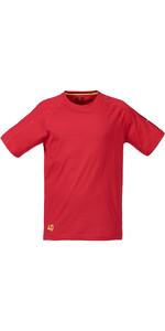 Musto Evolution Logo Short Sleeve Tee in TRUE RED SE1361
