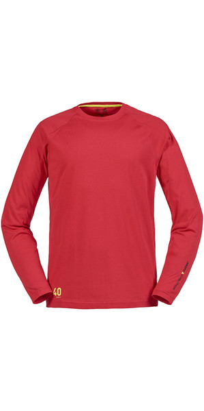 Musto Evolution Sunblock Long Sleeve T-Shirt True Red SE1550