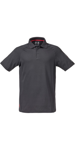 Musto Evolution Sunblock Short Sleeved Polo Top CARBON SE0264