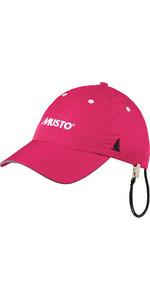 Musto Fast Dry Crew Cap in Hot Pink AL1390